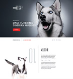 Dogs Landing Page Template