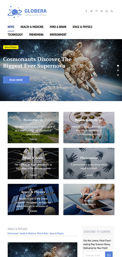 Media Most Popular website inspirations at your coffee break? Browse for more WordPress #templates! // Regular price: $55 // Sources available:.PHP, This theme is widgetized #Media #Most Popular #WordPress