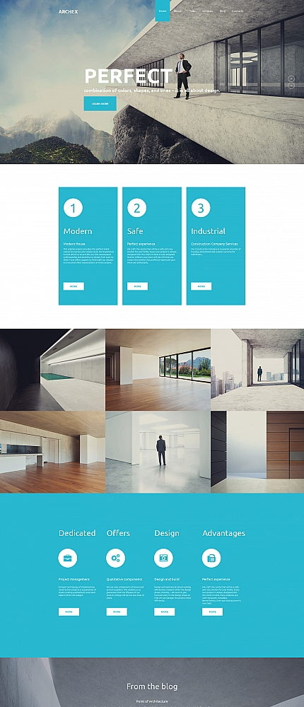 Architecture Most Popular website inspirations at your coffee break? Browse for more Moto CMS HTML #templates! // Regular price: $139 // Sources available:<b>Sources Not Included</b> #Architecture #Most Popular #Moto CMS HTML
