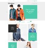 Clothing Magento Template