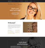 Responsive JavaScript Animated Template #58529