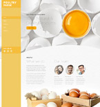 Responsive JavaScript Animated Template #58532