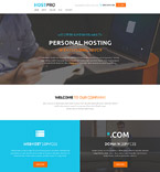 Hosting Company WordPress Template