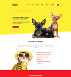 Dogs Joomla Template