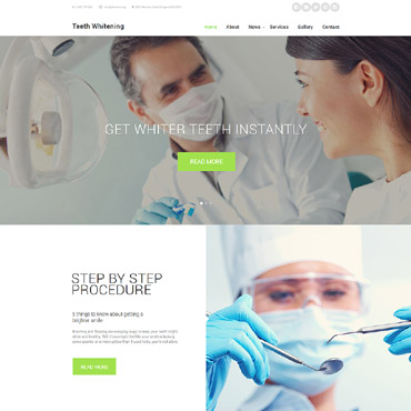 Website Template # 58563