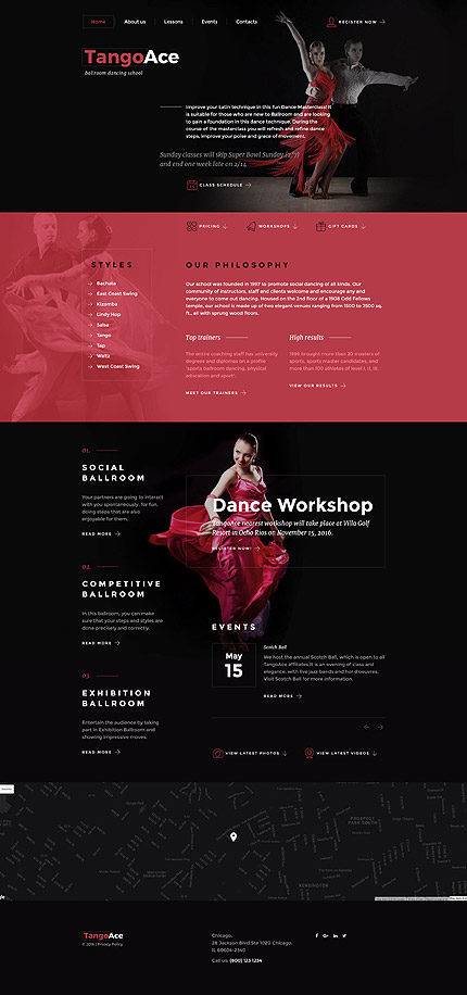 Education Most Popular website inspirations at your coffee break? Browse for more Bootstrap #templates! // Regular price: $75 // Sources available: .HTML,  .PSD #Education #Most Popular #Bootstrap