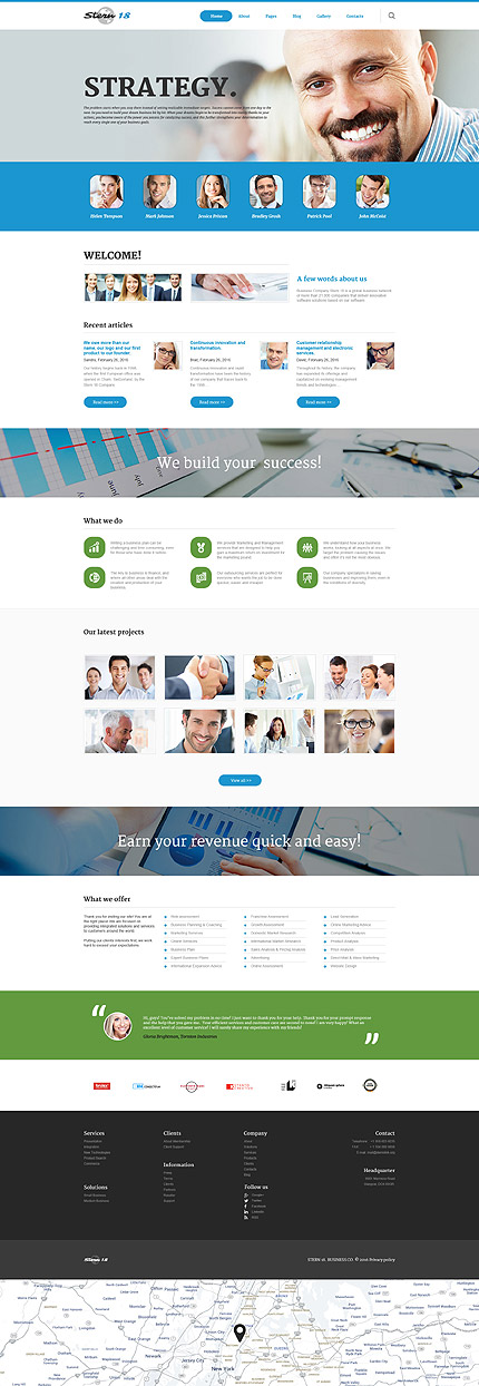 Business - Template Joomla
