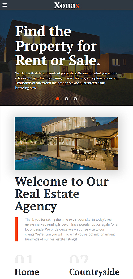Real Estate Most Popular website inspirations at your coffee break? Browse for more Bootstrap #templates! // Regular price: $72 // Sources available: .HTML,  .PSD #Real Estate #Most Popular #Bootstrap