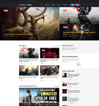 Game Zone WordPress Template
