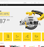 Tools Store WordPress Template