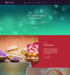 Responsive JavaScript Animated Template #58680