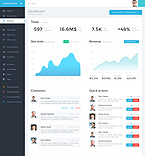 Download Template Monster Admin Template 58708
