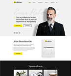 Responsive JavaScript Animated Template #58740