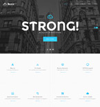 Responsive JavaScript Animated Template #58825