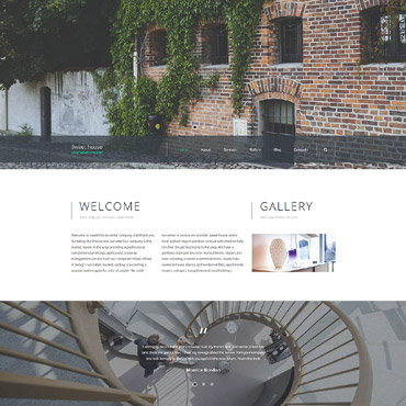 Website Template # 58832