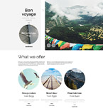 Travel Agency WordPress Template