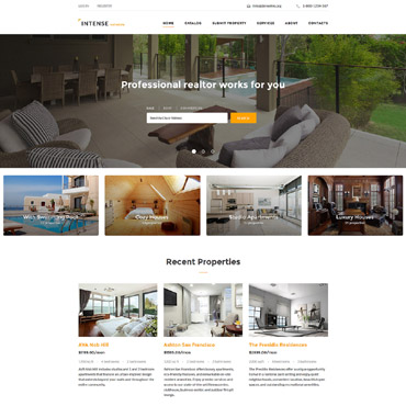 Website Template # 58887