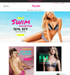 Lingerie & Accessories Magento Template