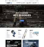 Fishing Magento Template