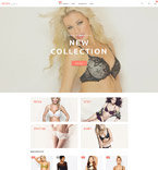 Lingerie Store Magento Template