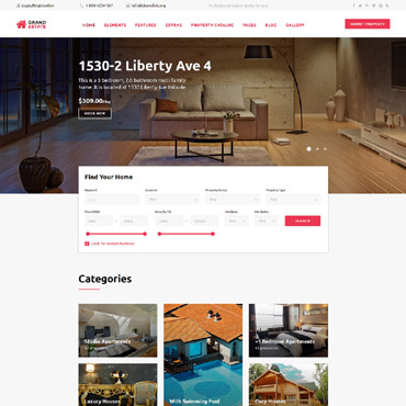 Website Template # 58944