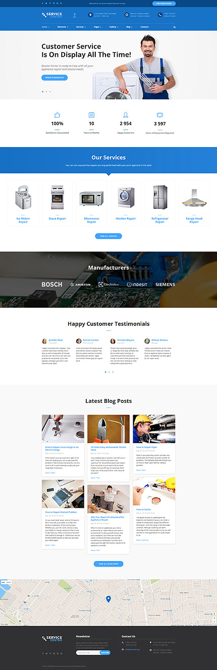 Most Popular Maintenance Services website inspirations at your coffee break? Browse for more Bootstrap #templates! // Regular price: $75 // Sources available: .HTML,  .PSD #Most Popular #Maintenance Services #Bootstrap