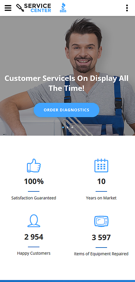 Most Popular Maintenance Services website inspirations at your coffee break? Browse for more Bootstrap #templates! // Regular price: $72 // Sources available: .HTML,  .PSD #Most Popular #Maintenance Services #Bootstrap
