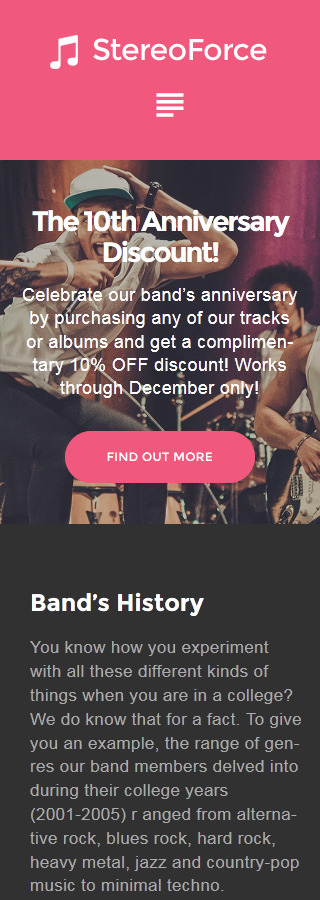 Music Most Popular website inspirations at your coffee break? Browse for more WordPress #templates! // Regular price: $75 // Sources available:.PHP, This theme is widgetized #Music #Most Popular #WordPress