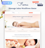 Massage Salon WordPress Template