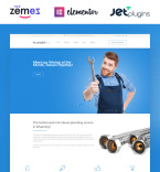 Plumber WordPress Template