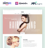 Hair Care WordPress Template