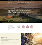 Winery & Restaurant WordPress Template