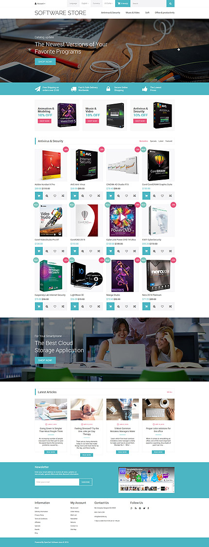 Software Most Popular website inspirations at your coffee break? Browse for more OpenCart #templates! // Regular price: $49 // Sources available: .PSD, .PNG, .PHP, .TPL, .JS #Software #Most Popular #OpenCart