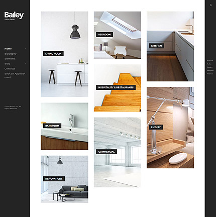 Template 59022 ensegna themes for Interieur software