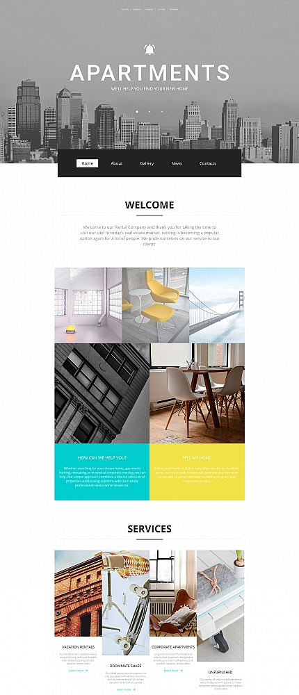 Real Estate Most Popular website inspirations at your coffee break? Browse for more Moto CMS HTML #templates! // Regular price: $139 // Sources available:<b>Sources Not Included</b> #Real Estate #Most Popular #Moto CMS HTML