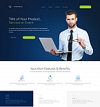 Finance Landing Page Template