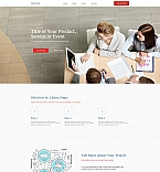 Consulting Agency Landing Page Template