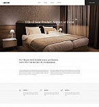 Hotel Landing Page Template