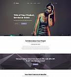 Music Portfolio Landing Page Template