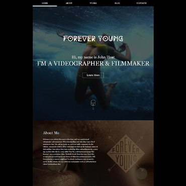 Website Template # 59255