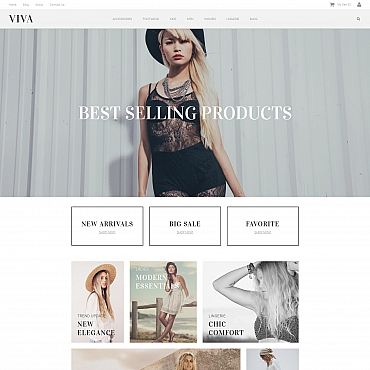 MotoCMS Ecommerce Template # 59282