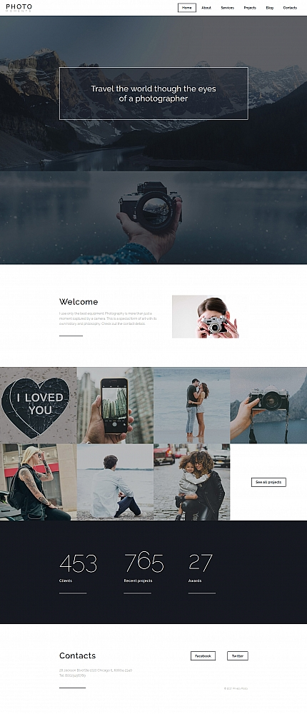 Art &amp; Photography website inspirations at your coffee break? Browse for more Photo Gallery 4.0 #templates! // Regular price: $199 // Sources available:<b>Sources Not Included</b> #Art &amp; Photography #Photo Gallery 4.0