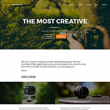 Photo Gallery Template # 59495