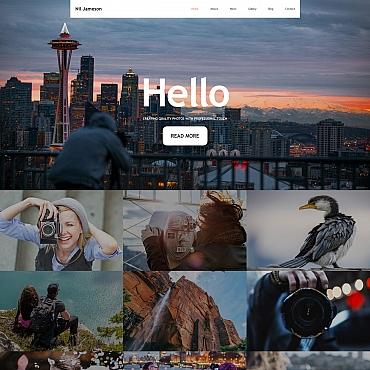 Photo Gallery Template # 59496