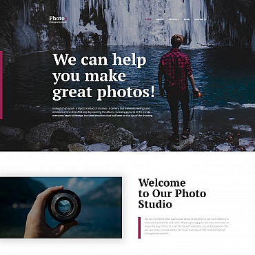 Photo Gallery Template # 59498