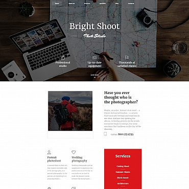 Photo Gallery Template # 59499