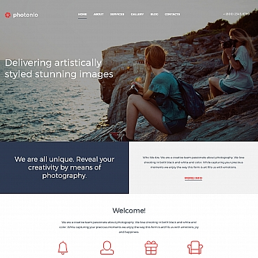 Photo Gallery Template # 59550