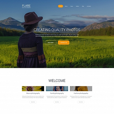 Photo Gallery Template # 59551