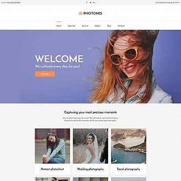 Photo Gallery Template # 59552