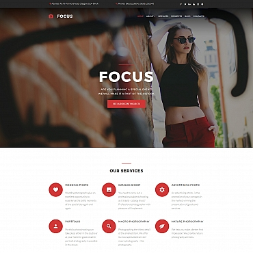 Photo Gallery Template # 59553